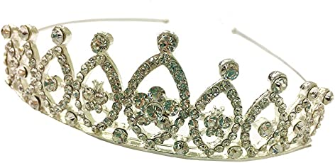 Funky Baby Diamond studded Crown Tiara Head band Women girls & Kids