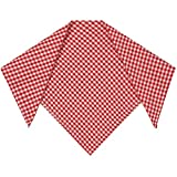 Bongossi-Trade Halstuch Trachtentuch Nikituch 50x50cm rot