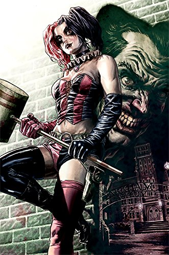 Pose Maxi Poster 61 x 91,5 cm (Harley Quinn Zimmer Dekor)