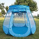 Smartrich Zelthaus, für drinnen und draußen, Spielzelt für Kinder, Polyestertuch, Marineblau
