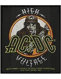AC/DC Badges High Voltage Angus–Patch tissé 9x 10cm