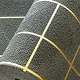 XPY-Wallpaper Moderne minimalistische Wohnzimmer TV Hintergrund Wand Schlafzimmer Deerskin3D Stereo Karierten Tapete, dunkelgrün