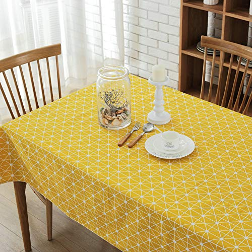 Morbuy Tischdecke Garten, Streifen Weihnachten abwaschbar Tischtuch Leinentischdecke Pflegeleicht...