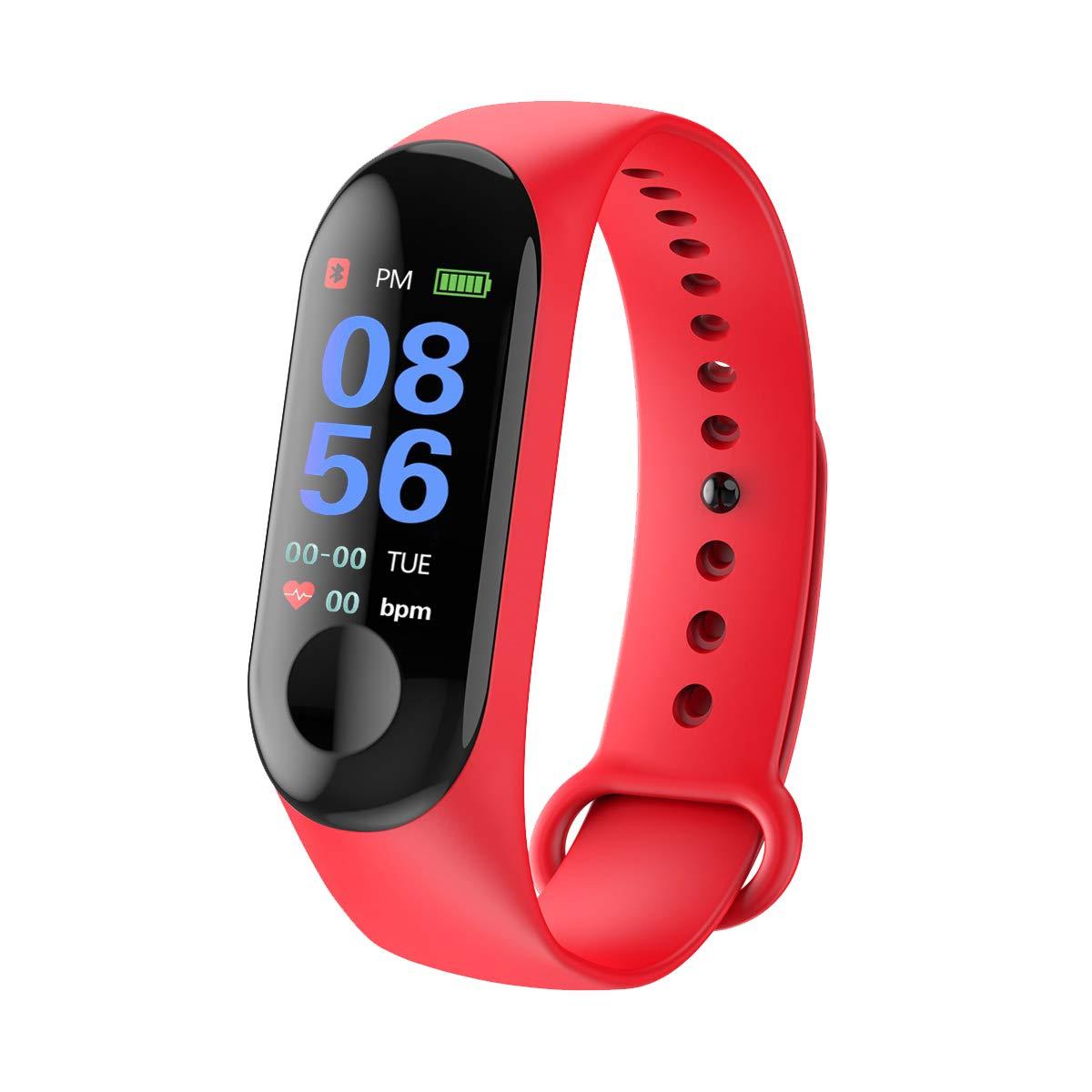 GerTong Fitness Tracker Reloj inalámbrico con pantalla colorida resistente al agua con podómetro para iPhone, Samsung… 1