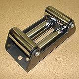 Rollenseilfenster für Forstseilwinden und Seilwinden mit maximal empfohlener Seilstärke von 10mm. Starke, robuste Ausführung. Seilfenster Seilrollenfenster Rollenfenster