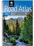 2017 Road Atlas Large Scale: Lsra (Rand Mcnally Large Scale Road Atlas USA)