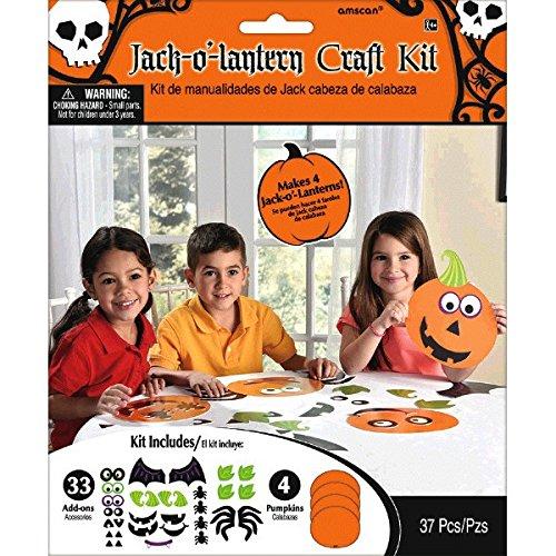 Amscan-397373Jack 'o' farol Kit de manualidades