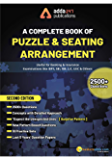 A Complete Book of Puzzles & Seating Arrangement (Second Printed English Edition)