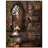TOOGOO(R) Halloween Duenn 5X7FT Vinyl Studio Hintergrund Fotografie Foto Hintergrund