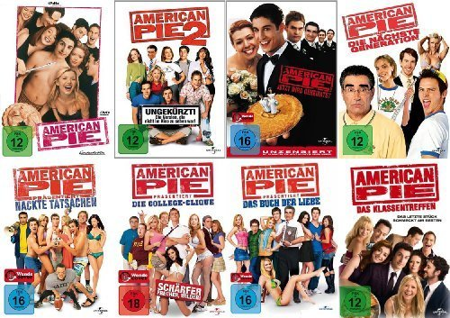 American Pie 1 + 2 + 3 + 4 + 5 + 6 + 7 + 8 Collection (8-DVD)