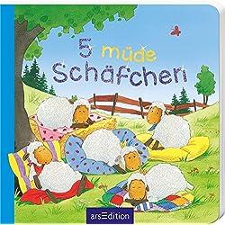 5 müde Schäfchen (5er Mini)
