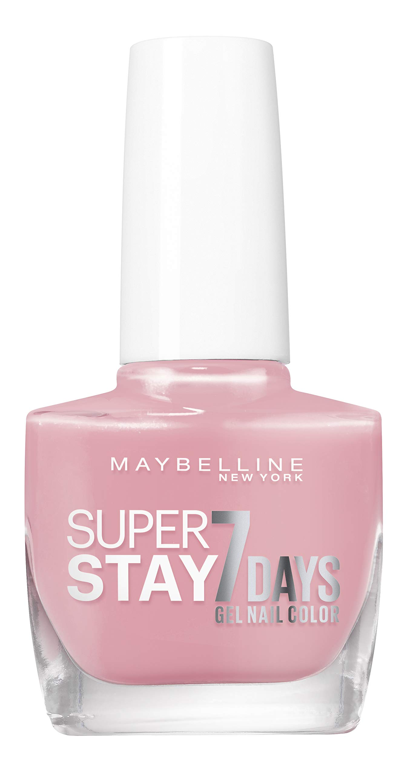 Maybelline New York – Vernis à Ongles Professionnel – Technologie Gel – Super Stay 7 Days – Teinte : Nude Rose (135)