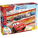 Lisciani - Cars puzzle 60 piezas y doble cara coloreable, 50 x 35 cm (Colorbaby 42662)