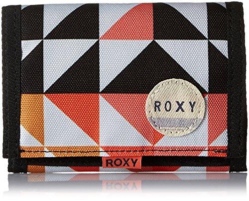 Roxy  Small Beach, Portefeuille femme - Couleurs mélangées - Multicolour (Small Cozy Geo Print),