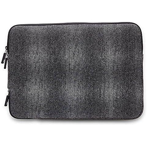 Gearmax 11pulgadas para portátiles de 15pulgadas–Funda impermeable portátil ipad macbook Funda para portátil funda de transporte bolsa rosa Black-2 Fit