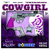Gonher - 159/2F - Jouer kit - Cow Girl - 8-coup - Rose
