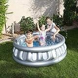 WJSW aufblasbare Spielwaren 152 * 43cm Sommer-rundes UFO-Planschbecken aufblasbares Pool,...