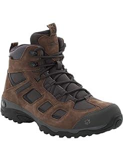 jack wolfskin texapore herren boots blau