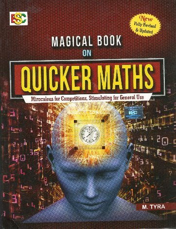 Magical Book On Quicker Maths (Updated Edition) 2018