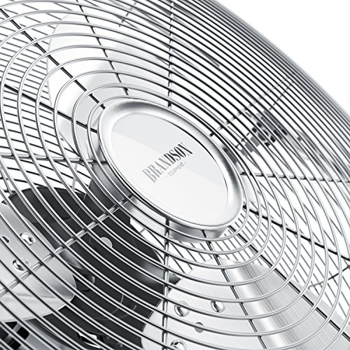 Ventilador-de-mesa-50-cm-Power-mquina-de-viento-con-120W-3-niveles-de-potencia-Low-Medium-High-diseo-retro-metal-cromo