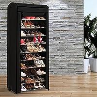 ProBache - Etagère range chaussures 30 paires ECO avec sa housse noire