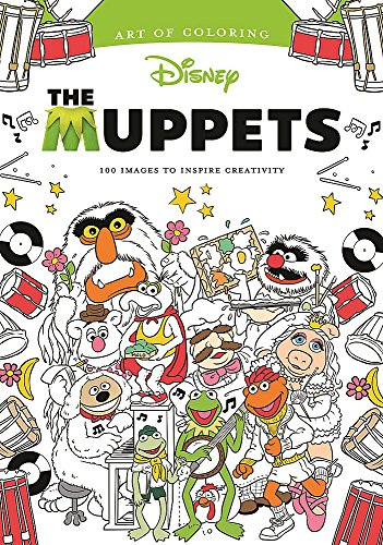 Art of Coloring: Muppets: 100 Images to Inspire Creativity por Dbg