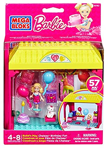 Mega Bloks 80162 - Barbie Chelsea's Geburtstag Party