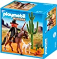 Playmobil Oeste - Sheriff con caballo (5251) por Playmobil
