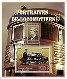 Briefmarken für Sammler und Eisenbahnfans - Kleinbogen von 1 Dampfzug Stempel im Jahr 2006 Benin/Mint und post ausgestellt