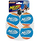 Nerf Dog Distance Tennis Balls, 4 Pack