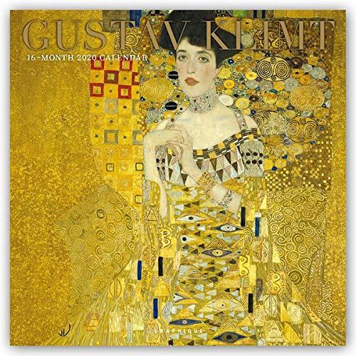 Gustav Klimt 2020: Original Graphique de France-Kalender [Kalender] [Mehrsprachig] (Wall-Kalender)