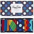 Happy Socks Mix Gift Box Calcetines (Pack de 4) Unisex Adulto