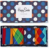 Happy Socks Mix Gift Box Calcetines (Pack de 4) Unisex adulto