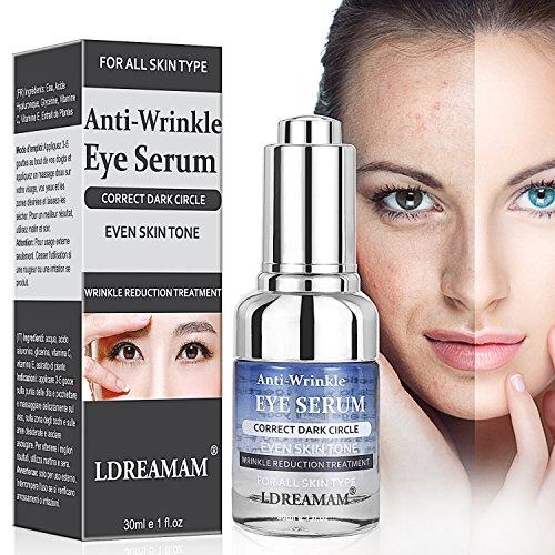 Augenpartie Serum, Augenpartie Benzin, creme für die Augen, Aging Serum für das Gesicht, Augencreme Anti-Age Augenkonturgel und abschwellend Tube, reduziert Falten & Augenringe