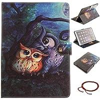 GOCDLJ PU Hülle per iPad Air 2 / iPad 6 Leder Flip Cover Tasche Ledertasche Case Etui Wallet Innenmuster Pouch... preisvergleich bei billige-tabletten.eu
