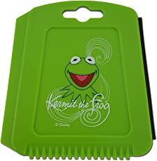 Auto Eiskratzer Eisschaber Muppets Kermit der Frosch Grün mit Gummilippe