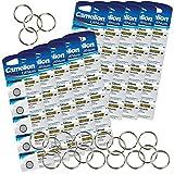 Camelion by SBS Knopfzelle Lithium Batterie CR1620 3V 50 Stück + 20 Schlüsselringe gratis