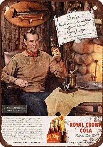 1941-gary-cooper-para-rc-cola-vintage-look-reproduccion-metal-tin-sign-8-x-12-pulgadas