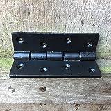 Antikas - Klappband -Tischband Eisen Beschlag Möbel Beschläge antik Tischbänder 75 x 55