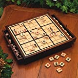 Bits and Pieces Deluxe Wooden Sudoku Boa...