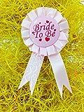 Satyam Kraft Bride to be Batch - Pink - ...
