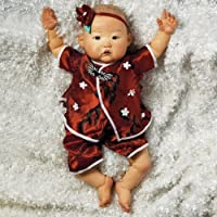Less Expensive 53 Cm In.. Paradise Galleries Reborn Asian Baby Girl Doll Nischi 21 Inches