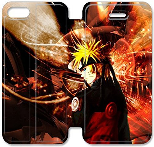 Coque iPhone 6 6s 4,7 pouces Coque Cuir, Klreng Walatina® 6 6s PU Cuir de portefeuille Coque Design By Naruto Shippuden Contexte Coque iPhone V3I8Ct