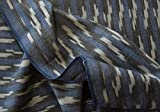 Fabrics By Heritage Trading Artisan Ikat. Hand-Woven Gefärbtes Drapierung Stoff Indien Cotton 44 Breite