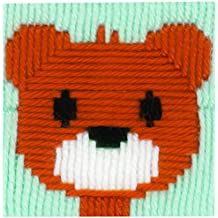 Vervaco Little oso de peluche Kit de punto de cruz, Multi-color