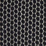 Fabulous Fabrics Spitzenstoff Kreise – Navy/altgold —