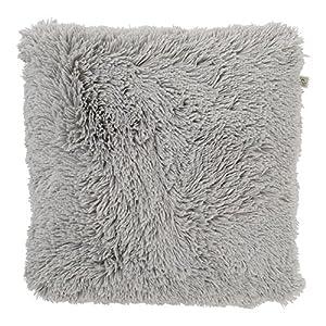 Dutch Decor Kissen Fluffy 45x45 cm Mist - Zierkissen - Dekokissen - Heimtextilien - Dekoration