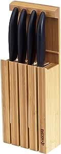 Kyocera KYOFINE03 Bloc de Couteaux, Lame céramique, 34 cm