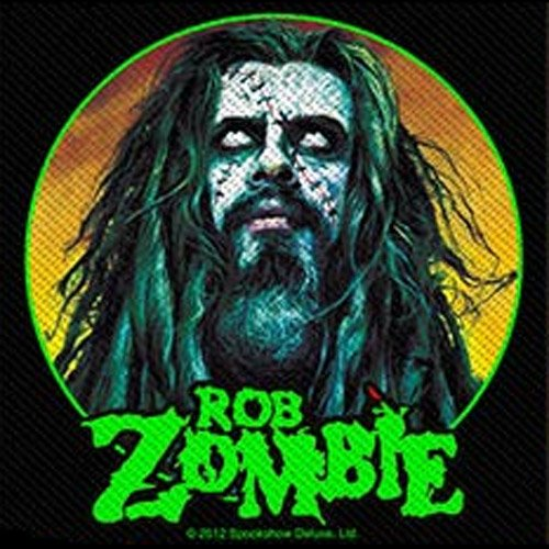 Rob Zombie - Patch Zombie Face (in 10 cm x 9 cm)