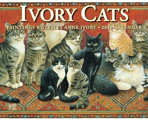 Ivory Cats 2010 Calendar